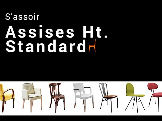 Assises hauteur standard-chaises-bridge